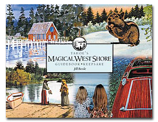 Tahoe's Magical West Shore front book cover
